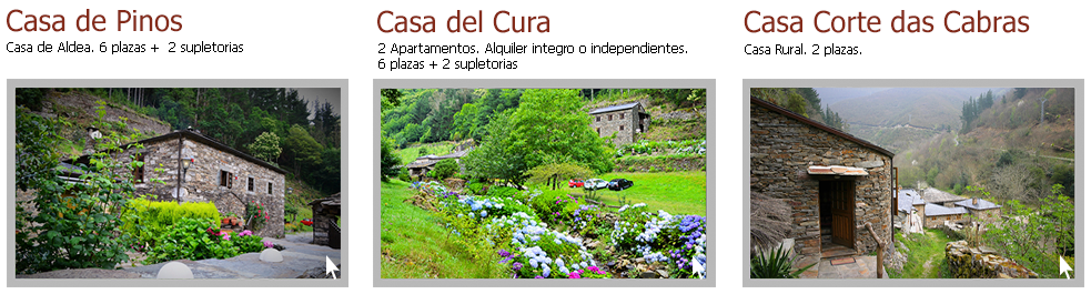 casas rurales as veigas